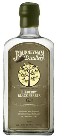 Journeyman Distillery Gin Bilberry Black Hearts